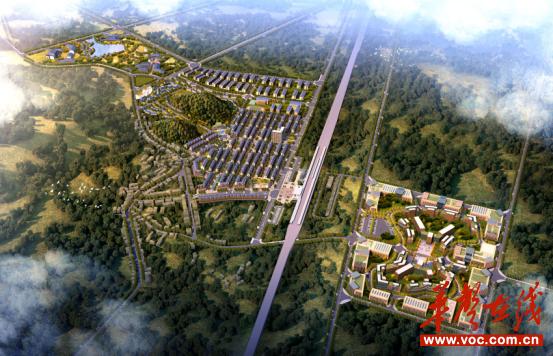 邵阳市总体规划图